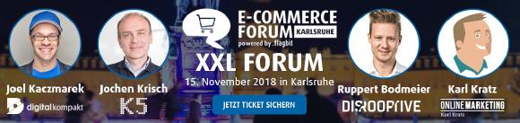 e commerce forum karlsruhe xxl flagbit gmbh co kg pressemitteilung. Black Bedroom Furniture Sets. Home Design Ideas