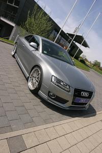JMS Audi A5 schräg von vorne