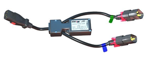 Alle Anschlüsse des ultrakompakten Transfer-Switches sind über eine Arretierung gesichert und verhindern so ein Lockern und Lösen der Kabel und schützen so vor Hardware-Ausfällen