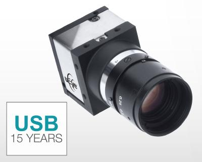 15 years ago, IDS introduced the first industrial camera with USB interface to the market
