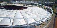 Heute liefert PFEIFER Seile für die größten Krane, die höchsten Aufzüge und spektakulärsten Stadien.