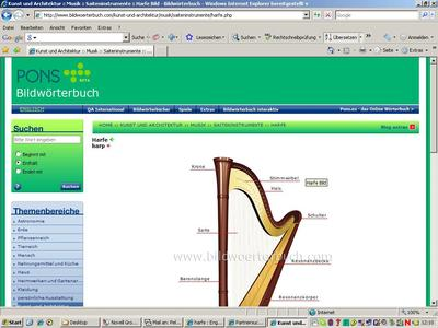Ponseu Screenshot Bild Harfe