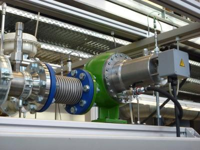 GET turbine generator | Photo: Universität Bayreuth