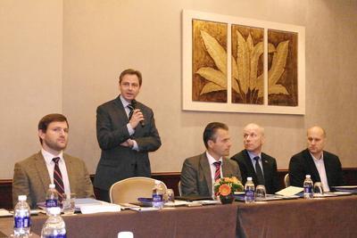 from left to right: Dr. Andree Buhl (BWMI), Merko Walde (AHK Vietnam...