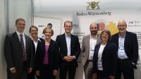 BIO 2018 - Team des baden-württembergischen Gemeinschaftsstandes