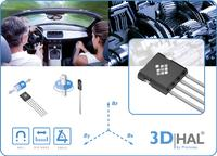 Micronas offers its 3D HAL® sensor families now also in leaded packages for use in automotive electronic systems