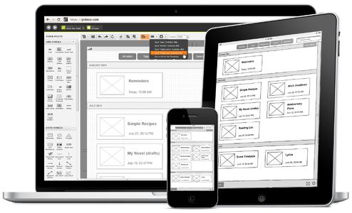 pidoco usability suite for mobile tangible ux