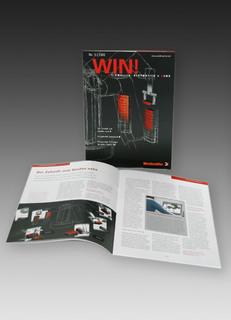 """Kundenmagazin """"WIN!"""" - attraktives Informationsmedium über aktuelle Lösungen und Produktneuheiten von Weidmüller"""