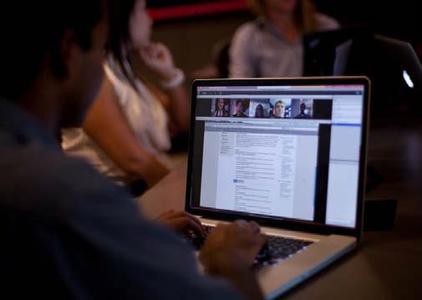 Meeting-Oberfläche / Vorschau Adobe Connect 9, © Adobe