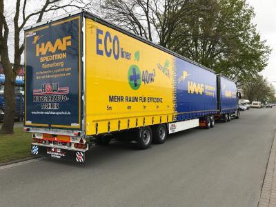 Erster Lang-LKW in Rheinland-Pfalz