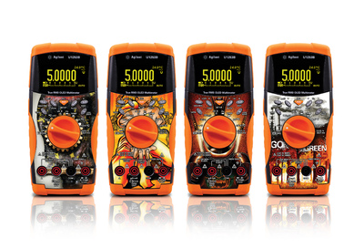 Agilent Technologies Launches Cool Skins for Its Handheld Digital Multimeters