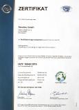 IATF 16949 Zertifikat