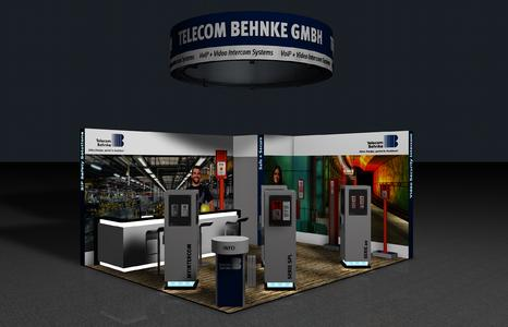 Behnke Messestand Security 2014