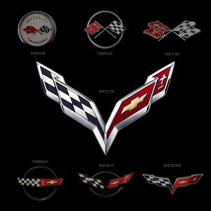 Corvette Logo Collection 1953-2013
