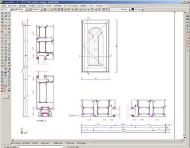 Die Software HUECK-TEC ist optimal auf Hueck/Hartmann-spezifische Konstruktionen abgestimmt. Es lassen sich aber auch andere Profilsysteme oder objektbezogene Profile leicht in die HUECK-TEC-Datenbank einfügen