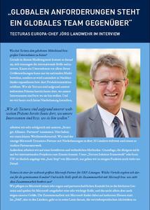 Interview mit Tectura-Europachef Jörg Landwehr