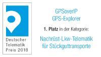 Deutscher Telematik Award 2018 GPSoverIP Stückgut
