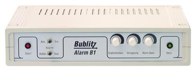 Luft als Signalgeber: Bublitz Alarm B1 sichert Häuser ohne aufwendige Montage.