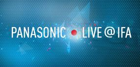 Panasonic Marketing Europe sendet LIVE von der IFA 2012