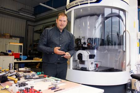Kolja Trautvetter, Geschäftsführer der Trako-Werkzeuge GmbH.