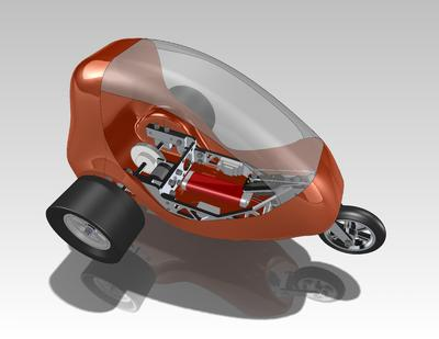 Scooter Karosserie