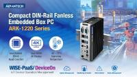 Advantech Releases Compact DIN-Rail Fanless Embedded Box PC for Intelligent Manufacturing and Outdoor Applications