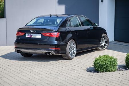 Die KW Gewindefedern sind für alle Audi S3 der 8V-Baureihe mit oder ohne elektronisch einstellbares Serienfahrwerk erhältlich