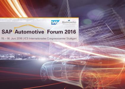 Westernacher auf dem SAP Automotive Forum