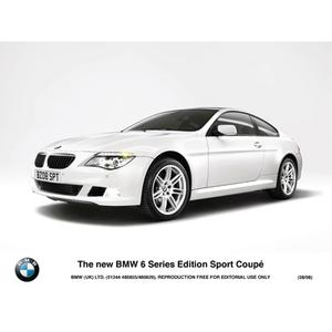 The new BMW 6 Series Edition Sport Coupé (08/2008)