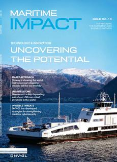 DNV GL releases the latest issue of Maritime Impact Magazine