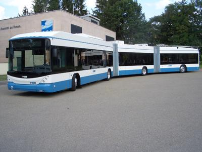 Zero emission: Delivery of the new battery trolleybuses from Hess and Vossloh Kiepe to Zurich