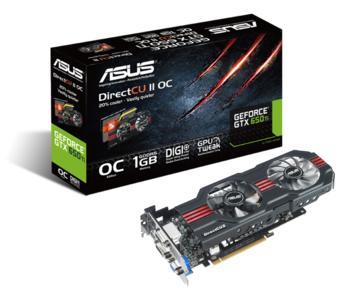 PR ASUS GeForce GTX 650 Ti DirectCU II Graphics Card OC Edition