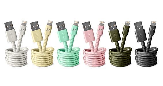 Fresh 'n Rebel präsentiert stylische Fabriq Cables
