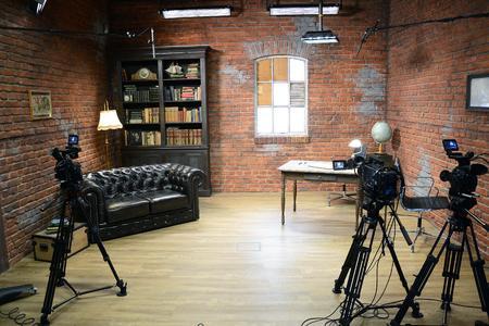 Das neue TV-Studio soll auch zur Außendarstellung der FH dienen / Foto: Gatermann