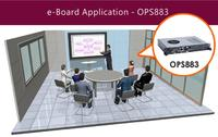 Axiomtek Accelerates Digital Signage Business with Intel® OPS Module - OPS883