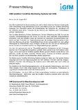 [PDF] Pressemitteilung: GfM installiert Condition Monitoring Systeme bei HKM
