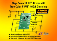 36V/1A-Abwärtsregler-LED-Treiber mit True Color PWM Dimming