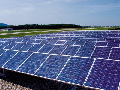 N solar Modulausschnitt