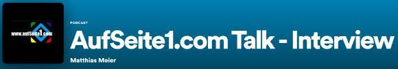 aufSeite1.com Talk / Interview | Podcast´s aus dem Bergischen Land