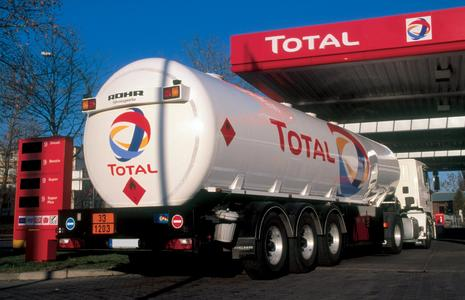 Cross-border service station replenishment – EMCS is a topic theme here as well. © Total