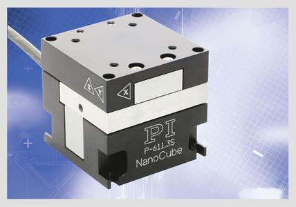 Das Nanopositioniersystem eignet sich für Stellwege von bis zu 100 x 100 x 100 µm. Angetrieben durch Piezoaktoren erreicht es Auflösungen bis 0,2 nm bei Ansprechzeiten im Millisekundenbereich (Foto: PI)