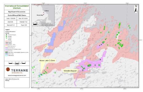 Figure 1 – Labrador Central Mineral Belt