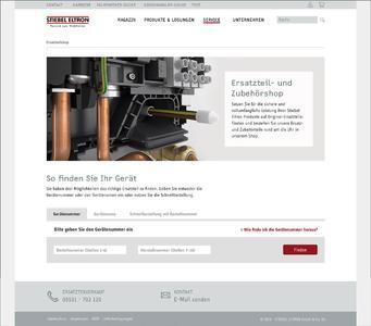 Neuer Online-Service von Stiebel Eltron
