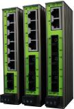 Schmale Industrial Ethernet Switches mit LWL SC-Duplex