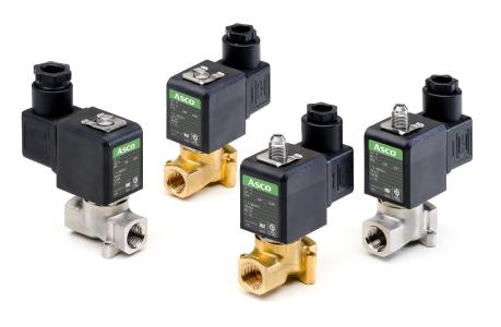 The ASCO Series 256/356 solenoid valves set a new benchmark for fluid control performance by reducing the overall footprint and power consumption while increasing pressure ratings