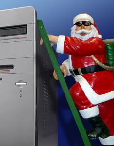 Weihnachtsmann Malware
