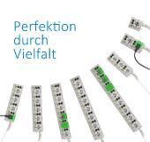 Modulare Steckdosenleiste e-medic™ MEDX, Perfektion durch Vielfalt (Foto: Baaske Medical)