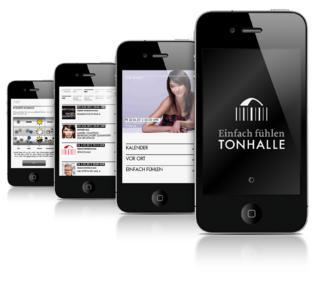 Ein Wahrzeichen bekommt seine eigene App: Die Tonhalle Düsseldorf / Foto: Appseleration GmbH