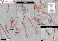 Vizsla expands Papayo and San Carlos Prospects with multiple intercepts at Panuco Project, Mexico