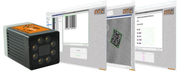 EyeSens 1x1x Series schärfer und schneller Codes lesen (QR, DMC, Barcode, OCR)